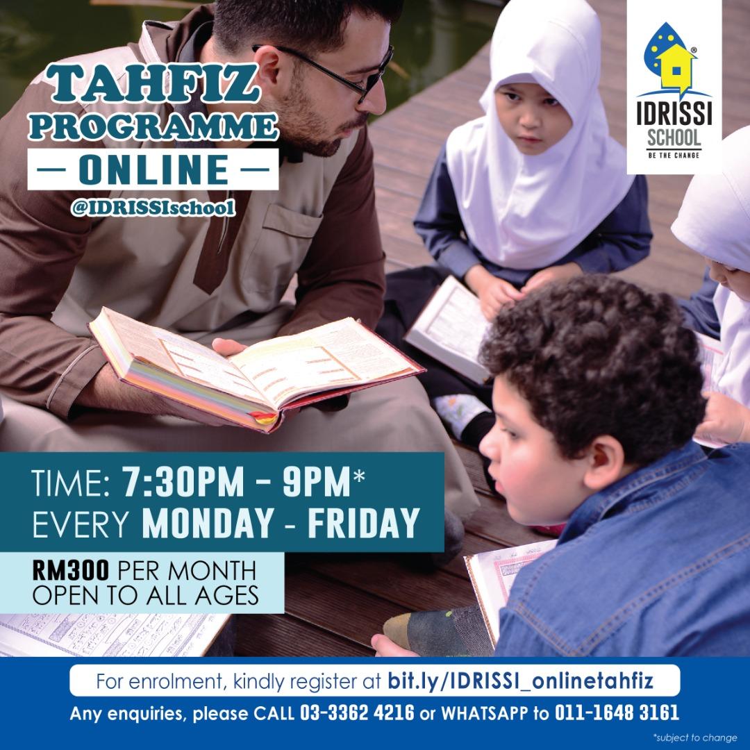 Online Tahfiz Programme